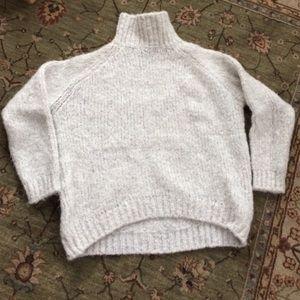 Zara Italian yarn turtleneck sweater